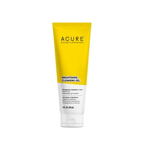 Acure Brightening Cleansing Gel - 4 fl oz - image 1 of 4