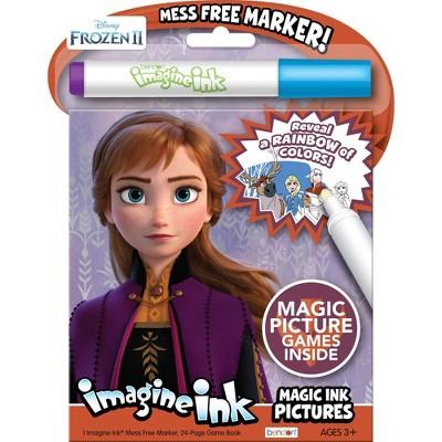 Frozen 2 Imagine Ink Magic Ink