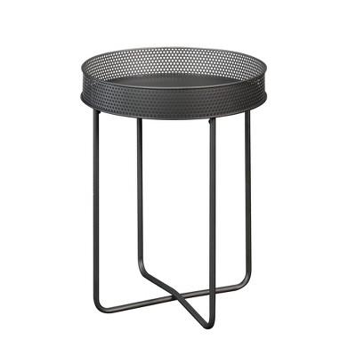 Boulevard Cafe Side Table Black - Sauder