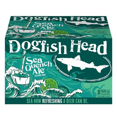 Dogfish Head SeaQuench Ale Session Sour Beer - 6pk/12 fl oz Cans