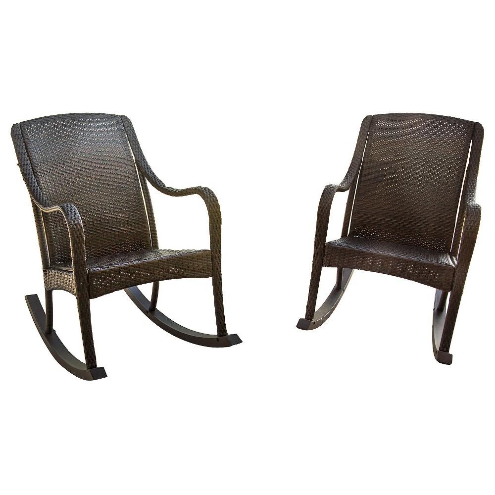 2pk Patio Seating Set - Hanover, Brown