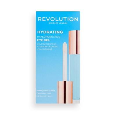 Makeup Revolution Skincare Hydrating Hyaluronic Eye Gel - 0.3 fl oz