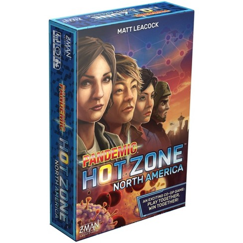 Z-Man Games Pandemic Hot Zone Board Game - image 1 of 4