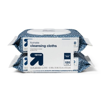Cleansing Cloths - 2pk - up & up™