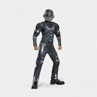Boys' HALO Spartan Locke Classic Muscle Halloween Costume S