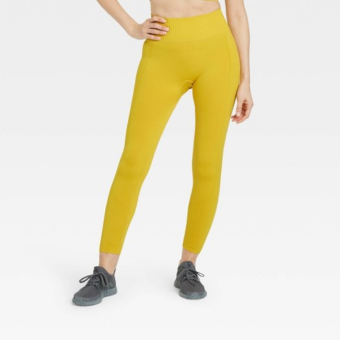Women's Seamless High-Rise 7/8 Leggings - All in Motion™ - image 1 of 4