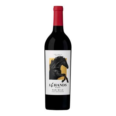 14 Hands Run Wild Red Blend Wine - 750ml Bottle