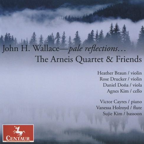 Arneis quartet - Wallace:Pale reflections (CD) - image 1 of 1