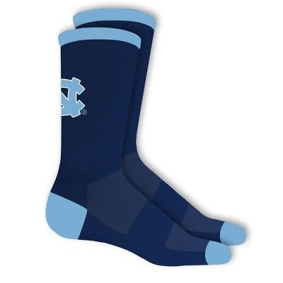 NCAA North Carolina Tar Heels Big Game Crew Socks