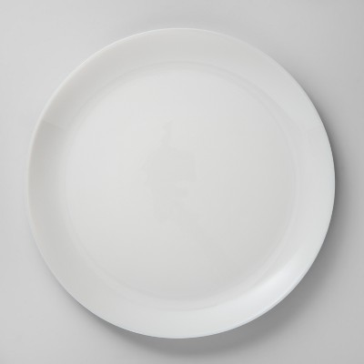 Glass Dinner Plate 10.7  White - Made By Design™