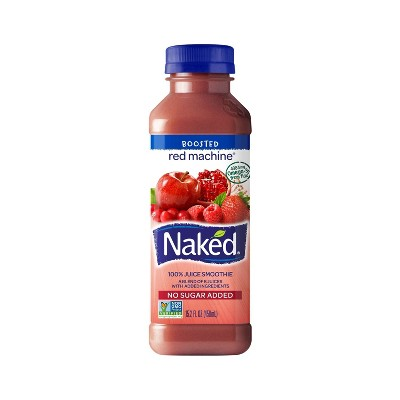 Naked Red Machine All Natural Boosted Juice Smoothie - 15.2oz
