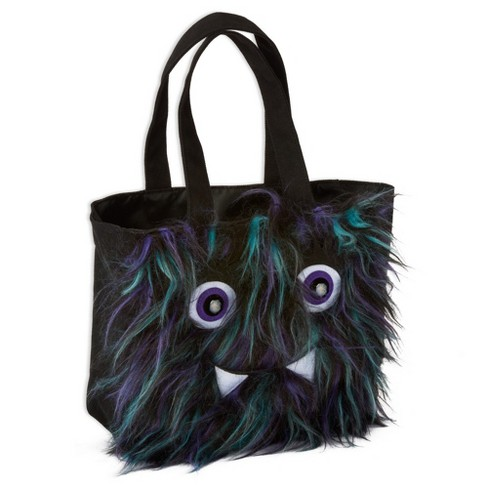 Furry Monster Halloween Canvas Bag - PAPYRUS - image 1 of 3
