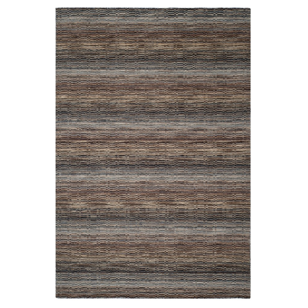 Stripe Loomed Area Rug 6'X9' - Safavieh, Beige