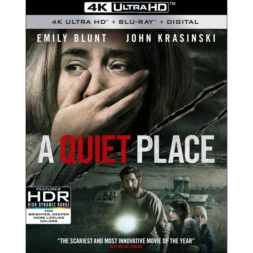 A Quiet Place (4K/Uhd), Movies