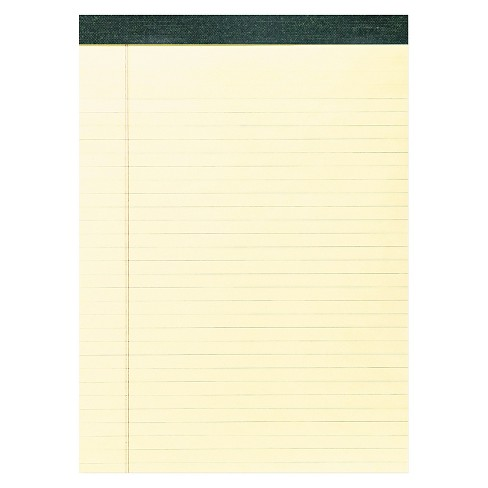 "12pk Recycled Legal Pads 8.5"" x 11"" Yellow- Roaring Spring - image 1 of 1"