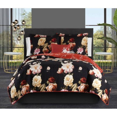 Edwina Bed in a Bag Quilt Set - Chic Home Design