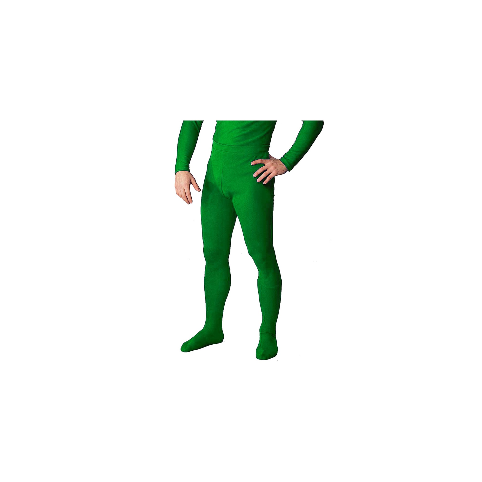 Halloween Men's Professional Tights Green Medium Costume
