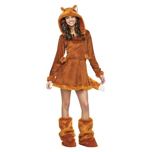 Junior's Sweet Fox Costume One Size Fits Most - image 1 of 1