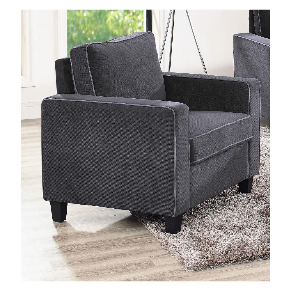 Grafton Chair Dark Gray Lifestyle Solutions, Dark Heather