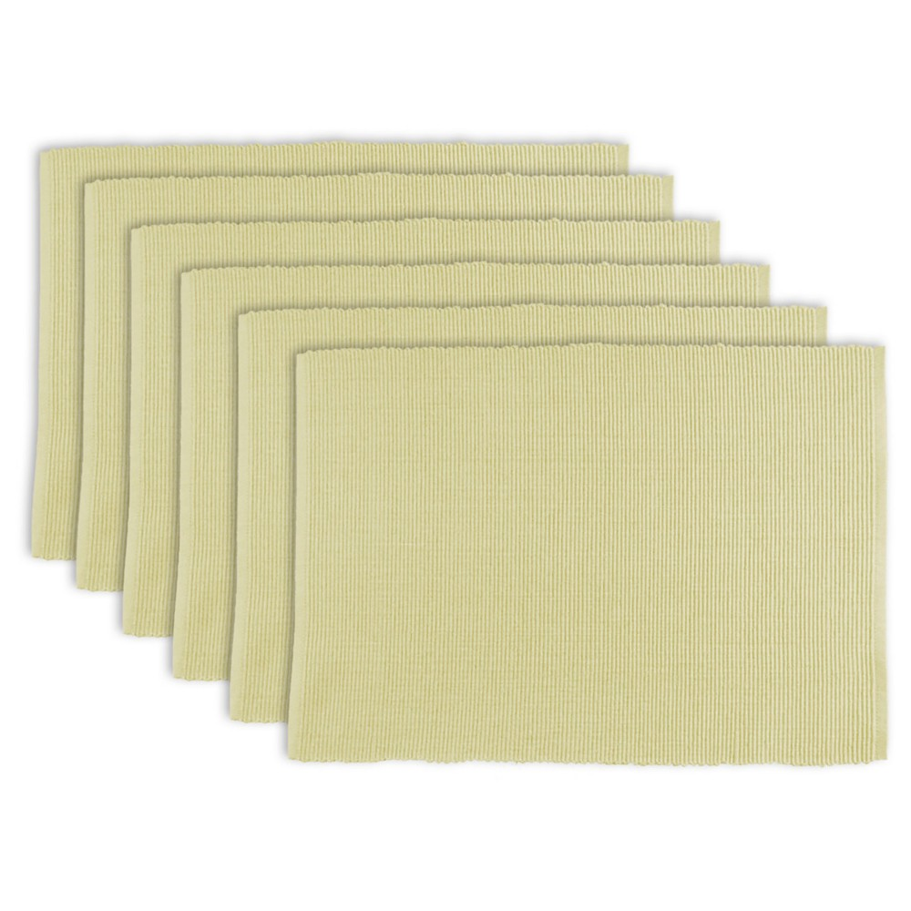 Natural Placemats Set Of 6 Design Imports