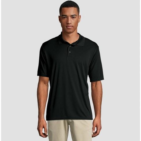 Hanes Men's Short Sleeve CoolDRI Pique Polo Shirt - image 1 of 3
