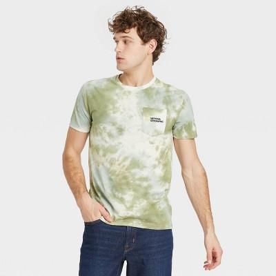 Men's National Geographic Short Sleeve Graphic Crewneck T-Shirt - Green