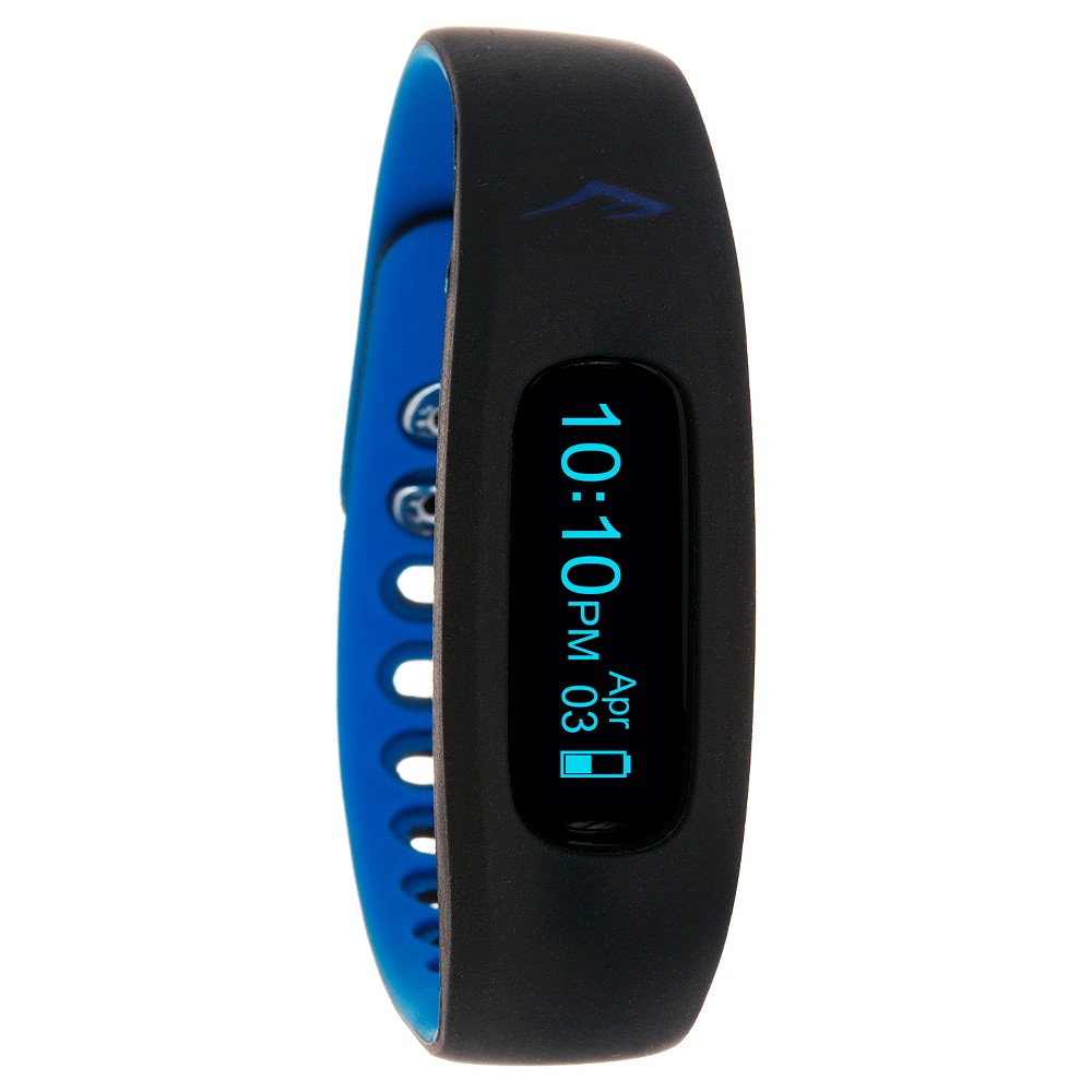 Everlast Wireless Activity Tracker Watch Black, Blue