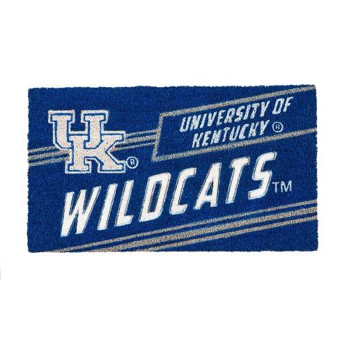 """NCAA Kentucky Wildcats Rubber Door Mat 14""""x 30.5"""" - image 1 of 1"""