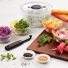 OXO Little Salad And Herb Spinner - image 4 of 4