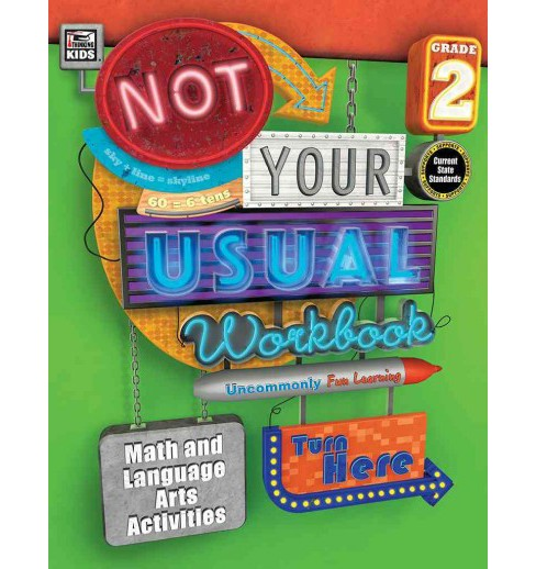 Not Your Usual Workbook Grade 2 (Paperback) - image 1 of 1