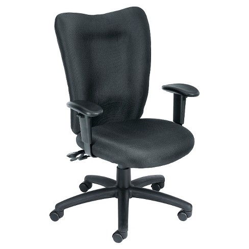 Task Chair With 3 Paddle Mechanism with Seat Slider Black - Boss Office Products - image 1 of 1