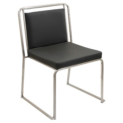 Cascade Contemparary Stainless Steel Dining Chairs (Set Of 2)   LumiSource  : Target