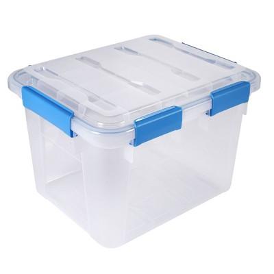 Ezy Storage 33.8qt IP67 Waterproof File Storage Box