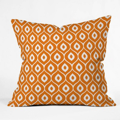 Aimee St Hill Leela Orange Pillow Orange - Deny Designs
