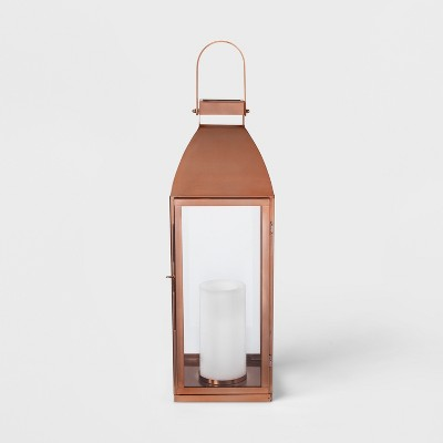 24  x 8  Lantern Candle Holder Copper - Smith & Hawken™