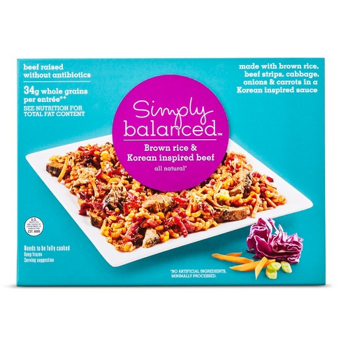 Korean Beef Strips and Rice - 9oz - Simply Balanced™ - image 1 of 1