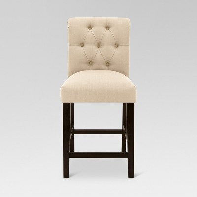 Sterling Tufted Counter Height Barstool - Threshold™ : Target