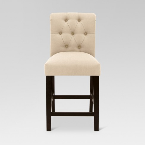 Sterling Tufted 25 Counter Stool Wood Threshold Target