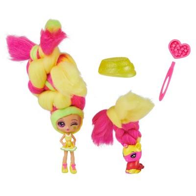 Candylocks Doll + Pet - Lemon Lou Twist & Peg-asis