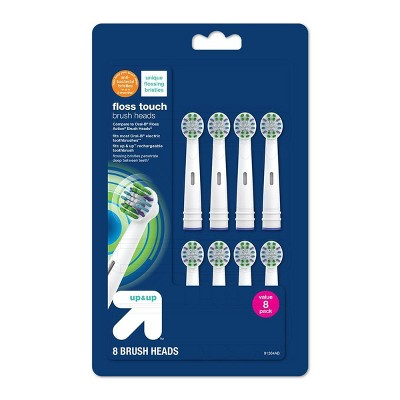 Floss Touch Replacement Brush Heads - 8ct - up & up™