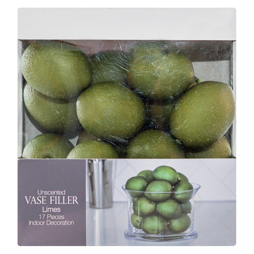 Lime Vase Filler Green 17pc - Lloyd & Hannah