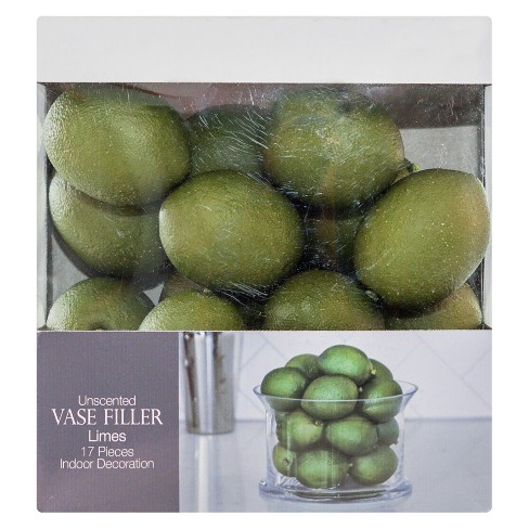 Lime Vase Filler Green 17pc - Lloyd & Hannah - image 1 of 2