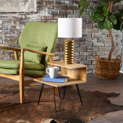 Captivating Glasgow End Table Natural   Christopher Knight Home : Target