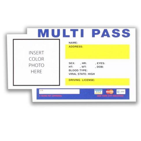 Nerd Block Fifth Element Multi Pass Sticker - image 1 of 1