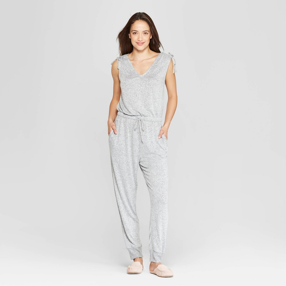 Women's Perfectly Cozy Lounge Jumpsuit - Stars Above Gray XS