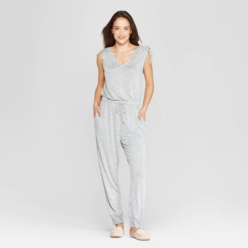 Women's Perfectly Cozy Lounge Jumpsuit - Stars Above™ - image 1 of 9