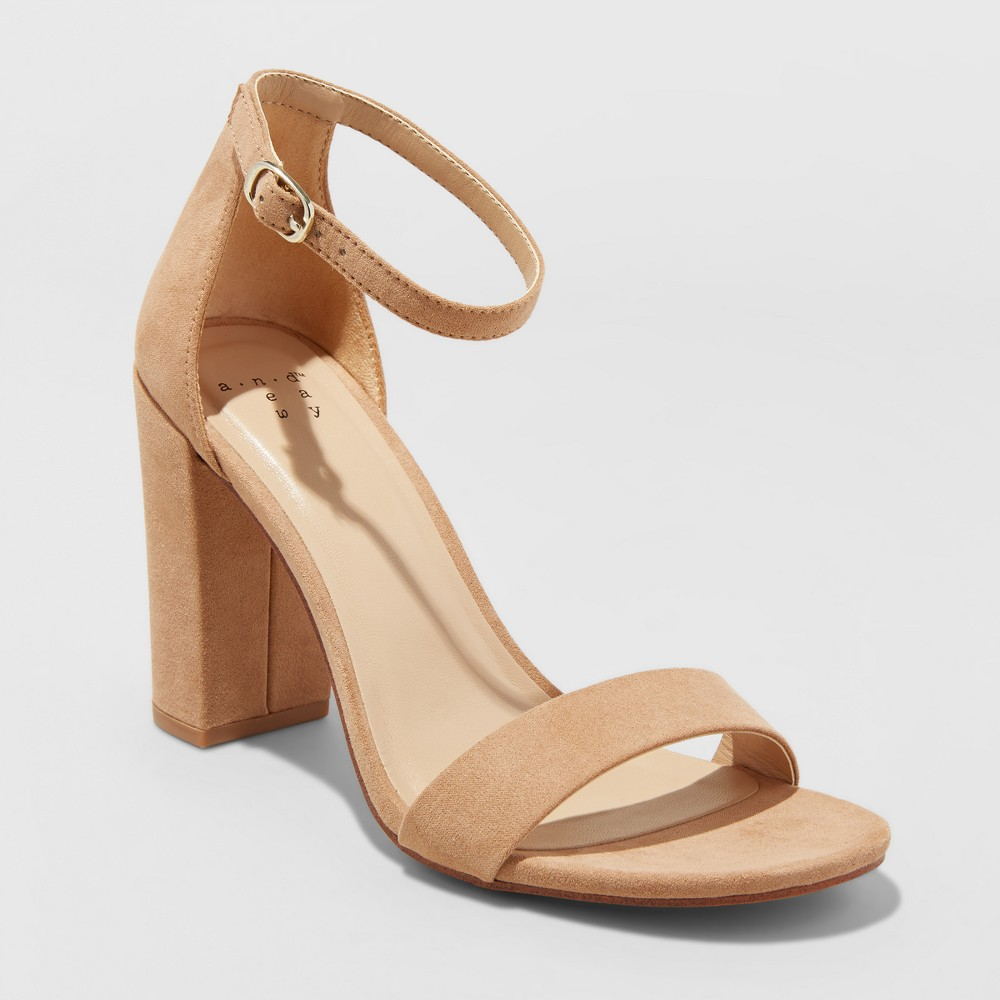Women's Ema Pumps - A New Day Taupe (Brown) 12