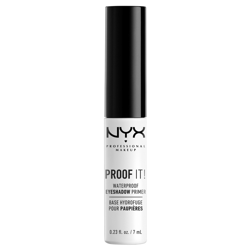 Nyx Professional Makeup Proof It Eyeshadow Primer - 0.23 fl oz, Clear