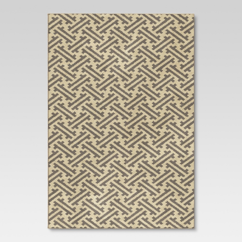 Stockholm Fleece Area Rug - Gray(7'x10') - Threshold