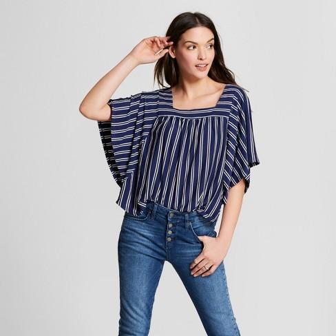 Women's Flutter Sleeve Top - Universal Thread™ - image 1 of 3